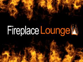 Fireplace Lounge TV