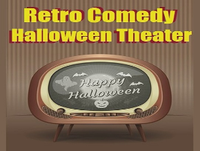 Retro Comedy Halloween Theater