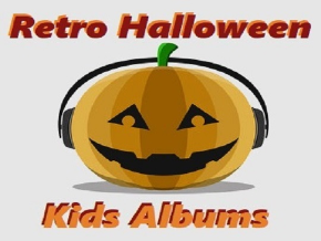 Retro Halloween Kids Albums