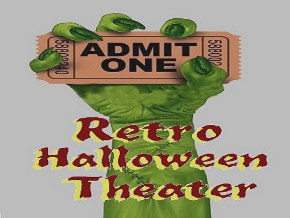 Retro Halloween Theater