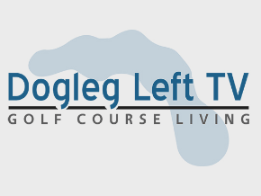 Dogleg Left TV Golf Course Living